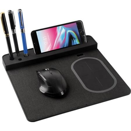 Promosyon Wireless Şarjlı Mouse Pad